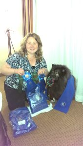 Clancy and I did well in Obedience and Rally at the 2014 Keeshond Club of America National Specialty in Asheville, NC.