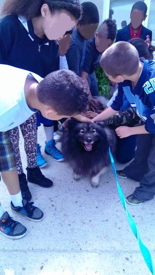 Clancy elementary school visit